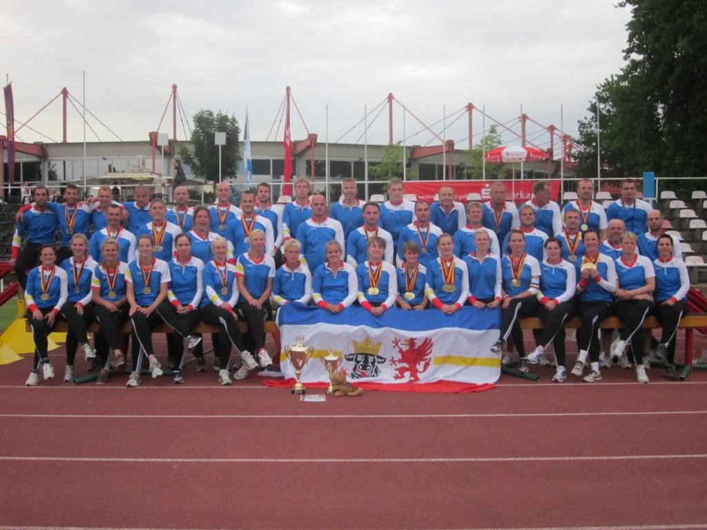 Deutsche Feuerwehr-Meisterschaft 2012 in Cottbus