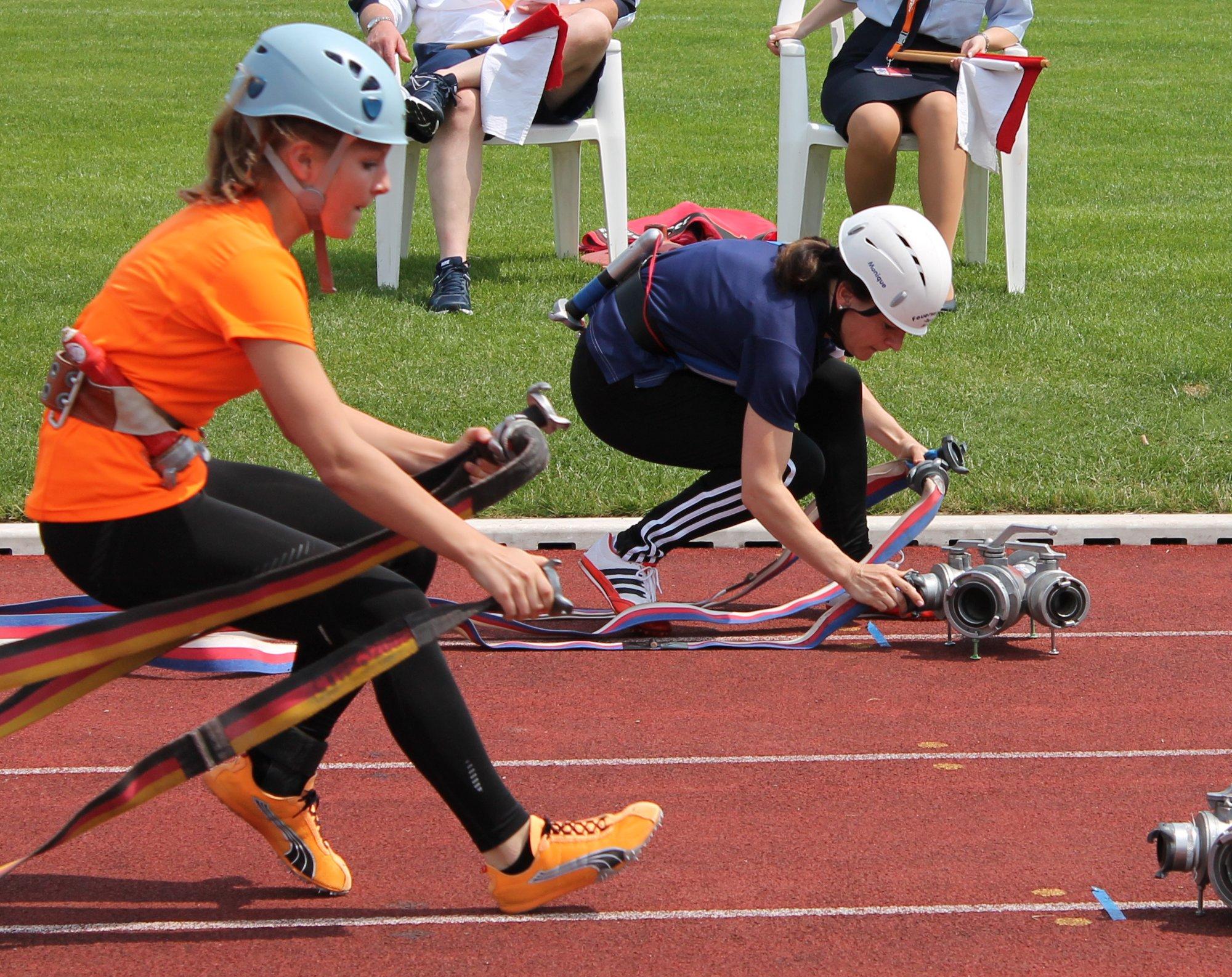 100m-Hindernisbahn Zeulenroda 2013