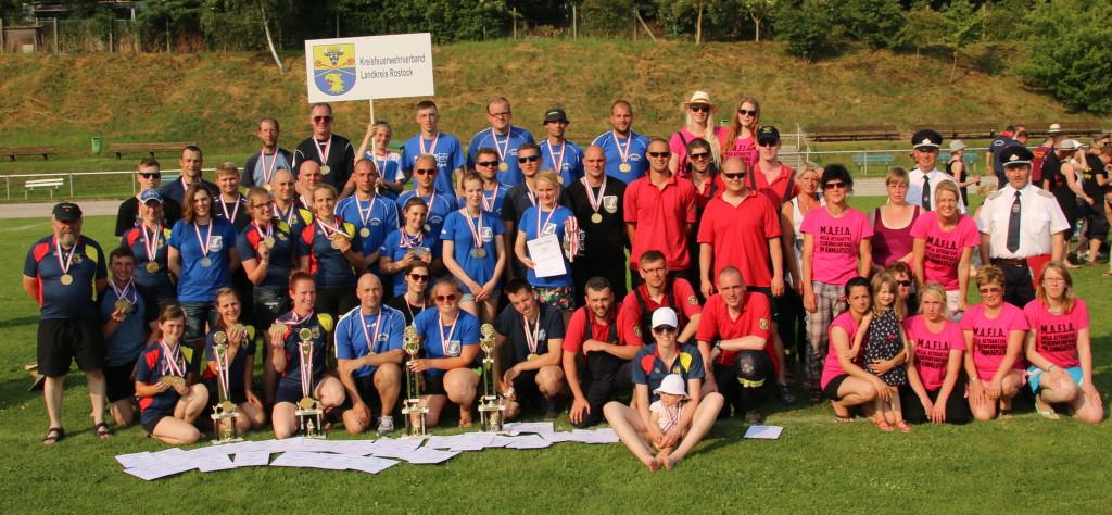Mannschaften des Landkreises Rostock